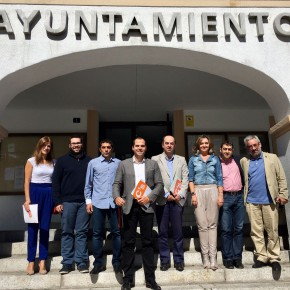 Reunión de los portavoces de la zona norte con Ignacio Aguado