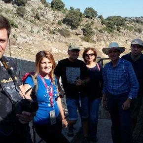 Visita de la agrupación a los molinos, batanes  y puentes del Río Manzanares