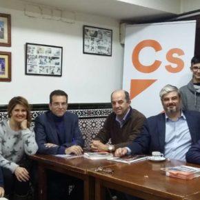 Café ciudadano con la agrupación de Cs de Colmenar Viejo