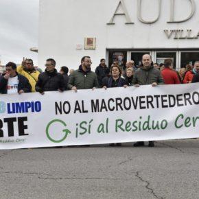 """Cs Colmenar Viejo participa en la manifestación """"No al vertedero, Sí al residuo Cero"""""""